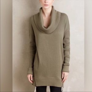 Pure + Good Anthropologie green sweater